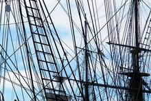 USA, California, San Diego Maritime Museum, Surprise Tall
