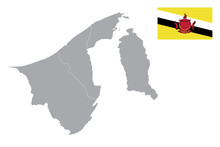 Brunei Darussalam Map. Brunei ...