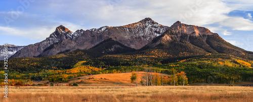 Autumn iin the San Juan Mountains of Colorado. Wallpaper Mural