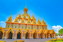 Golden Castle At Wat Thasung O...