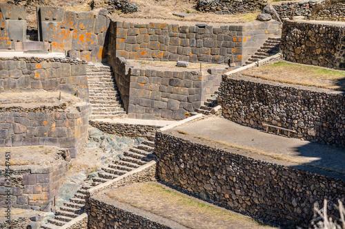 Fotografie, Obraz  Ollantaytambo fortress ruins, Sacred Valley, Cusco, Peru, South America