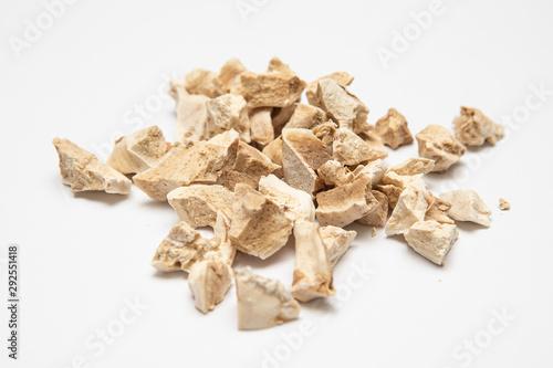 Papiers peints Iris Dried and fragmented rhizomes of Iris germanica