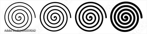 Obraz Spirale - fototapety do salonu