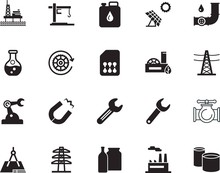 Factory Vector Icon Set Such A...