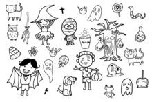 Kawaii Cute Hand Draw Doodle ...