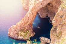 Blue Grotto In Malta. Pleasure...