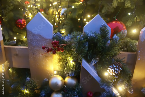 Fototapety, obrazy: Decorations for Christmas and new year