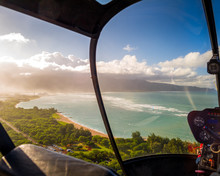 Aerial Helicopter Ride Over Maui