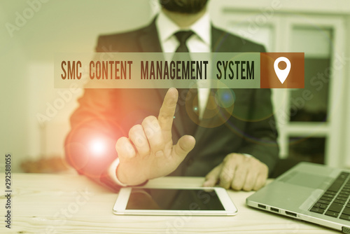 Photo  Handwriting text writing Smc Content Management System