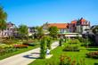 canvas print picture - Rosengarten, Bad Kissingen, Bayern, Deutschland