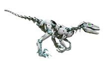 Velociraptor Robot Ready To At...