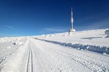 Ski Trail Jesenik Mountains Mount Praded