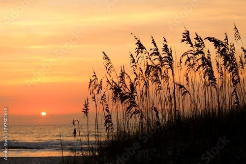 Photo Sunset Amelia Island Florida Beach