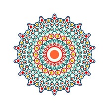 Stylish Mandala Design Vector Art