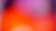 canvas print picture - Orange gradient defocused abstract photo smooth lines pantone color background