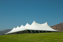 Large White Tent For Events In...