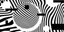 Black And White Psychedelic Li...