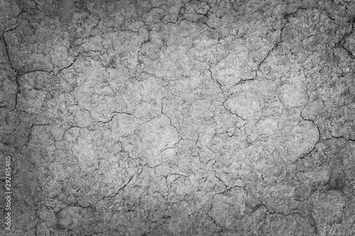 Fotografía Gray Soil texture of natural background