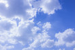 the blue sky and cloud, the blue abstratc background