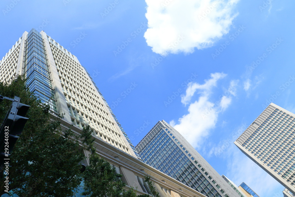 Fototapety, obrazy: 東京駅丸の内オフィスビル