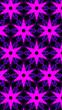 Leinwanddruck Bild - Ornate geometric pattern and abstract multicolored background