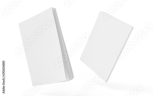 Photo Book Edition Cover Mockup Template 3d Illustration