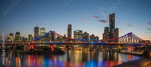 Brisbane Story Bridge panorama
