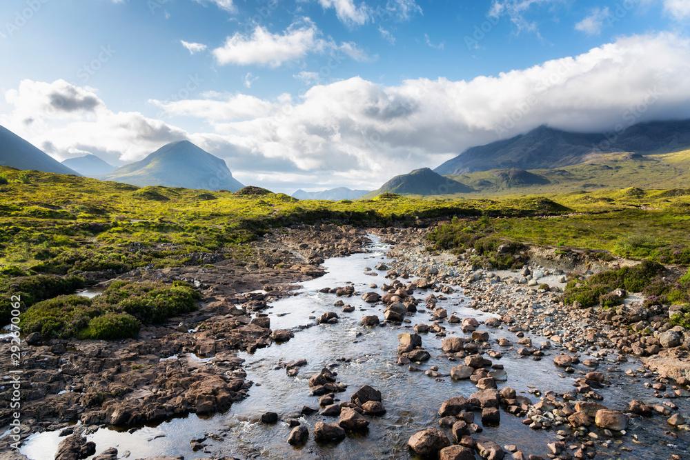 Fototapeta Cuillins Hills, Isle of Skye, Scotland