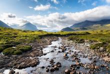 Cuillins Hills, Isle Of Skye, ...