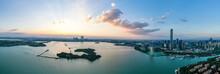 City Skyline In Suzhou China