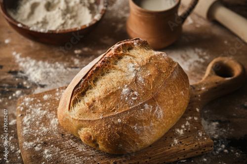 Fotografía Freshly baked traditional bread