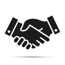 Handshake Icon. Shaking Hands ...