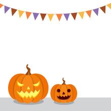 Halloween Pumpkins And Hallowe...