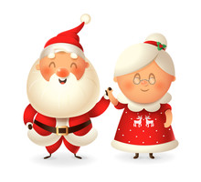 Santa Claus And His Wife Mrs C...