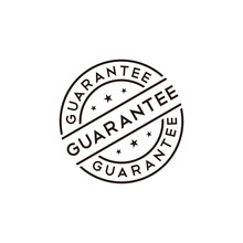 Guarantee Stamp Vector