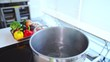 沸騰するお湯 キッチン
