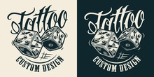 Vintage Monochrome Tattoo Salo...