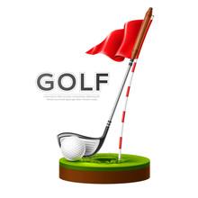 Vector Golf Tournament Poster ...