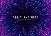 Sci-fi Universe Infinity. Abst...