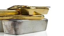Several Gold And Silver Bars O...