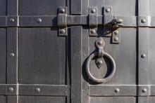 Old Black Door Dead Bolt, Knoc...