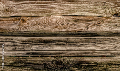Old wooden boards. Grunge background and texture