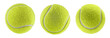 canvas print picture - tennis ball isolated white background - photography