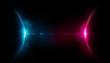 Leinwanddruck Bild - spazio, pianeti comunicanti, nemesi, raggio di luce,