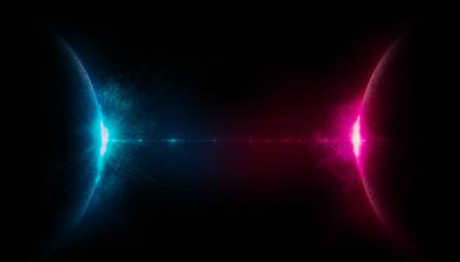 spazio, pianeti comunicanti, nemesi, raggio di luce,