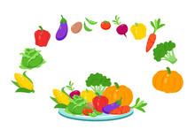Good Healthy Fresh Food Salad Fruit Vegetable