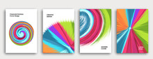 Multi-colored Book Cover Page ...