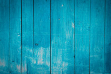 Old Painted Wood Wall - Textur...