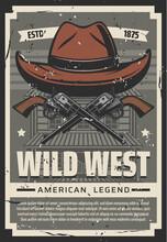 Wild West Cowboy Hat, Western ...