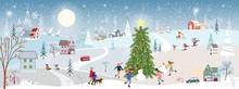 Wonderland Christmas Landscape...